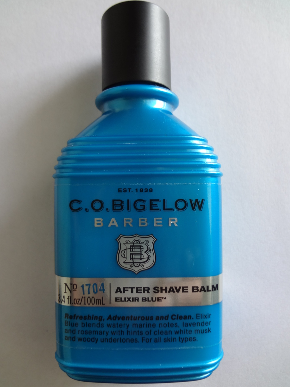 Bath & Body Works C.O. Bigelow Barber After Shave Balm Elixir Blue # 1704  3.4 oz / 100ml at Sears.com