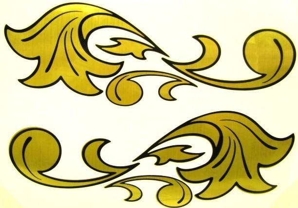 Decorazioni Foglia D 39 Oro