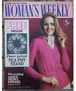 Woman's Weekly Magazine, March 11 1972 Prince Edward