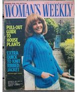 Woman's Weekly Magazine, October 2 1971 House P... - $6.50