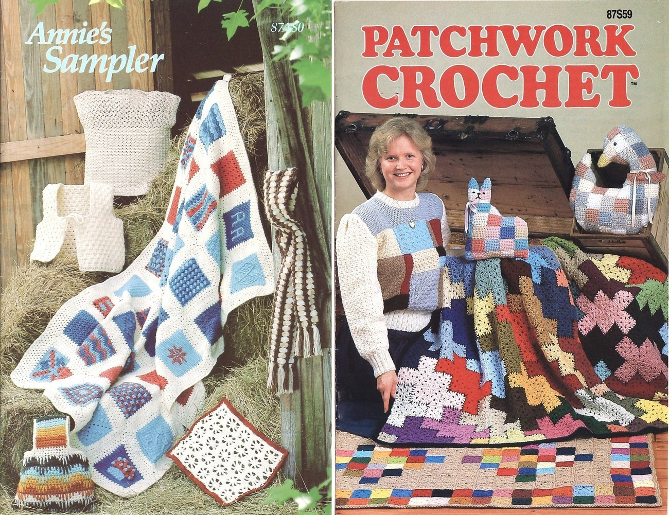 Holiday Patchwork Quilt Afghan Crochet Pattern | Red Heart