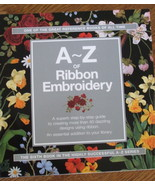 A-Z of Ribbon Embroidery - $33.25