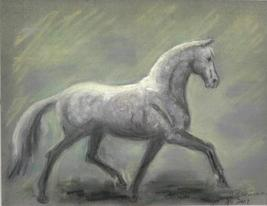 Gray_horse_facing_right_of_paper_thumb200
