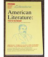 American Literature 1930 to Present College Rev... - $1.50