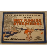 A Children's Color Book of the Best Florida Att... - $8.00