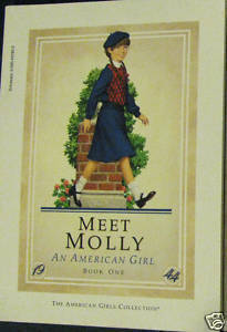 Meet Molly An American Girl Book One 1990 VGC