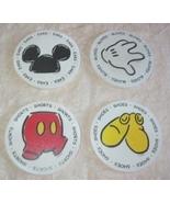 Disney Mickey Mouse Body Parts Stoneware Coasters - $20.00