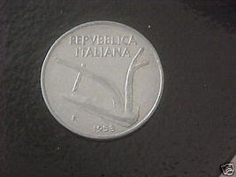 Italy 1953 10 Lire Coin - $3.50