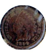 1890 INDIAN Head CENT - BRONZE Issue - Scarce B... - $7.50
