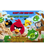 Angry Birds Birthday party Printable DIY Invitation
