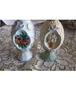 LOT OF 2 AVON DECORATIVE FLORAL BOUQUET & BIRDS... - $6.00
