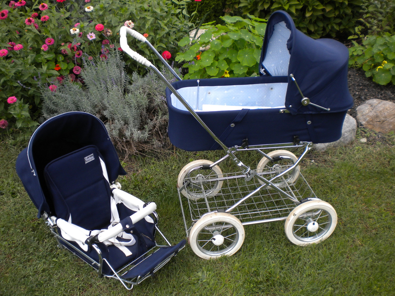 Emmaljunga Viking Plus Baby Stroller Carriage Pram W