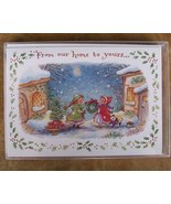 Boxed Christmas Cards, From Our Home To Yours, ... - $4.50