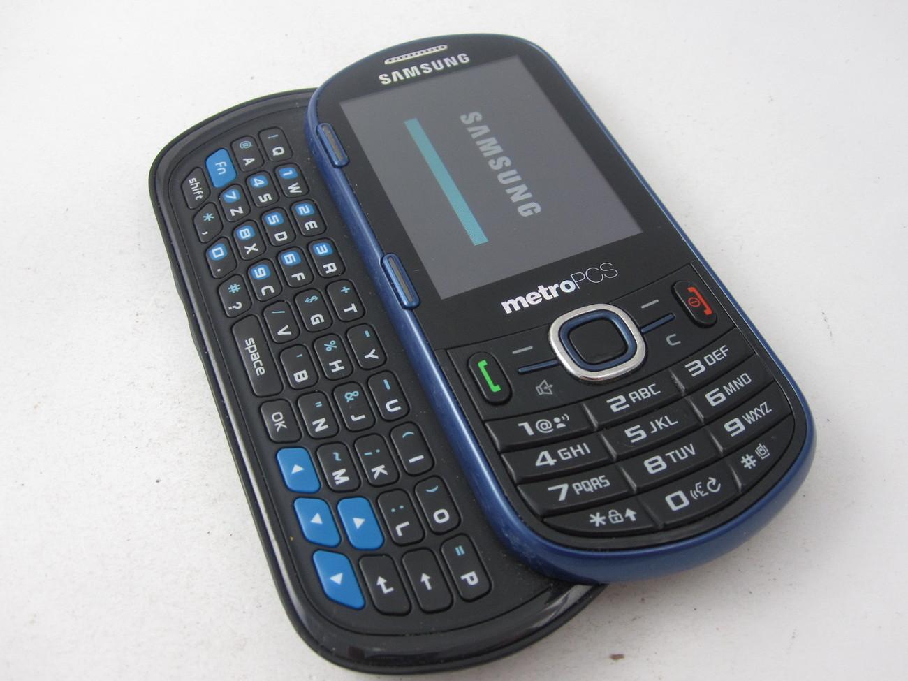 Metro Pcs Samsung Messager Sch R570 Cdma Qwerty Slide