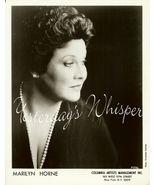 Marilyn HORNE Opera DAVIES Hall ORG Management ... - $9.99