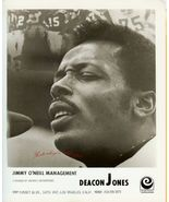 Deacon JONES ORG Management Promo PHOTO F846 - $14.99