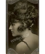 Beautiful PROFILE Virginia BARTON c.1920 DW ORG... - $19.99