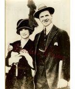George BANCROFT Wife ORG INP Press PHOTO i190 - $9.99