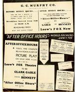 G.C. Murphy CO. & Loew's ORG Movie AD c.193... - $9.99
