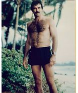 Tom SELLECK Bare CHEST Short SWIMSUIT Org PHOTO... - $14.99