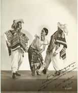 Mexican Dance Trio Mixteco AUTOGRAPHED Org PHOT... - $19.99
