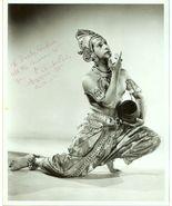 UNKNOWN India DANCER Autographed LA Org PHOTO E689 - $9.99