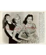 Elsa MARTINELLI Dan CRAYNE Sue WAGONER ORG PHOT... - $19.99