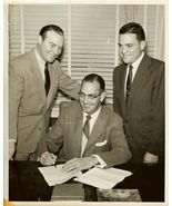 1955 NBC Contract Signing RALPH EDWARDS Org PHO... - $14.99