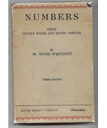 NUMBERS: Their Occult Power and Mystic Virtues ... - $195.00