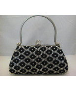 Black Sparkle Evening Bag Very Unique New - $29.00