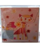 NEW Pink Orange Yellow Kitty CD gift box - gift... - $3.00