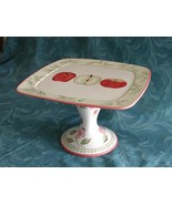 Footed Apple Pie  / Cake Stand $44.50 OBO - $44.50