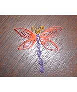 Special Order Paper Quill Dragonfly Magnets- Ha... - $5.95