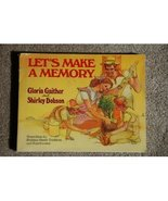 LET'S MAKE A MEMORY Building Family Traditions ... - $2.99