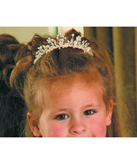 Adorable Child's Flower Girl Floral Silver Wedd... - $59.99