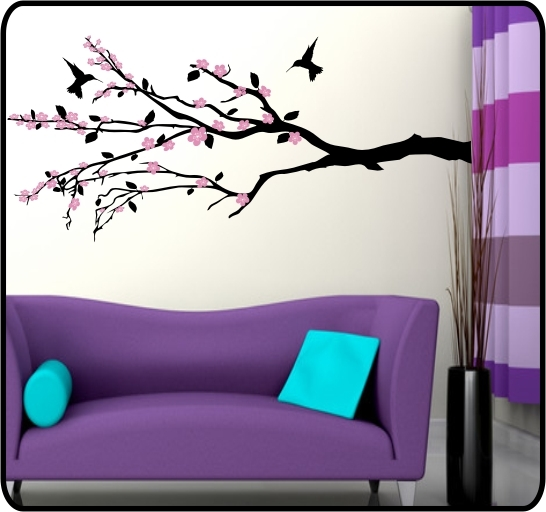 cherry blossom flower art. CHERRY BLOSSOM TREE LARGE
