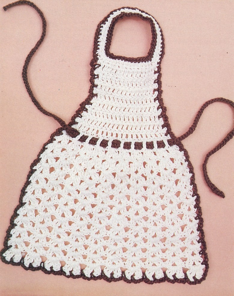 Crochet Apron And Dishsoap Apron Patterns Apron Crochet ...