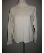 Karen Scott Acrylic & Wool Creme Sweater Size X... - $21.00