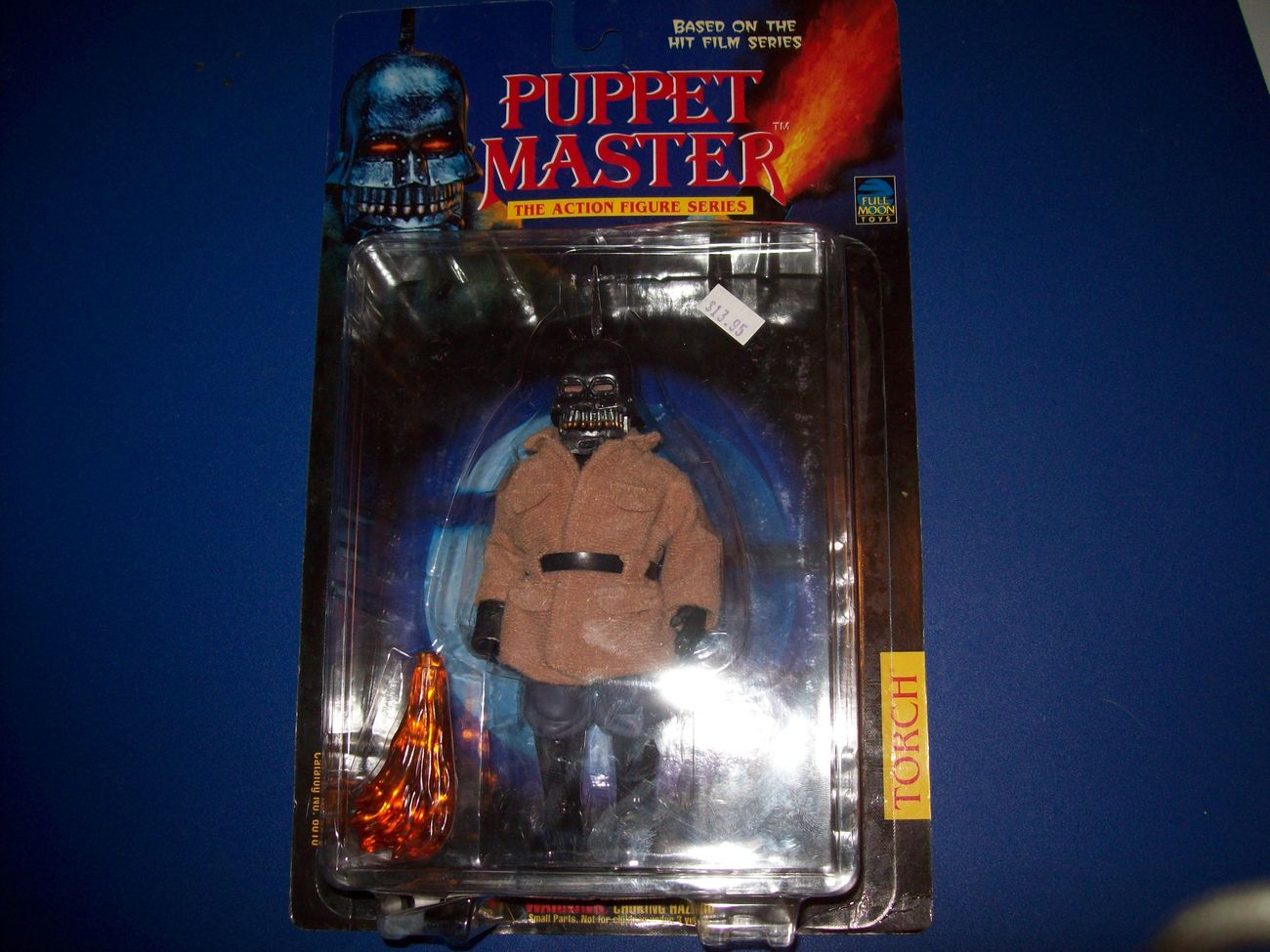 torch puppet master figure new in box full moon toys open to offers