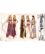 1970's SWIMSUIT COVER-UP & PANTS Pattern 5789-b... - $11.99
