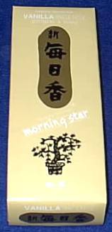 Morning Star~EXCELLENT QUALITY SUPREME FRESH VANILLA INCENSE~BEST Incense~XL BOX