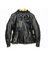 Black Leather Jacket Harley-Davidson 3 in 1 Hoo... - $375.00