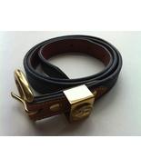 Dooney and Bourke Navy and Brown Women's Belt, ... - $25.00