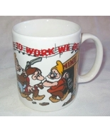 Disney Snow White 7 Dwarfs HI HO Off To Work Mug - $9.99