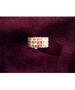 Designer like ring Gold - $5.00