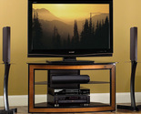 "Buy Furniture - Bello 44"" Wood Trim Corner TV Audio Video Furniture"