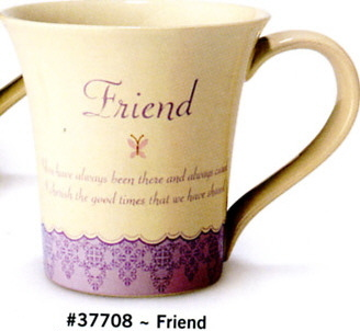 Russ Berrie Dear to My Heart Mug (Friend)
