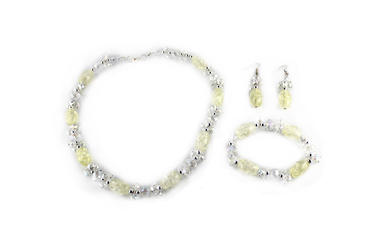 Confetti Jewelry Set in Ice