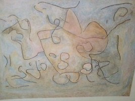 12x16 Abstract Print by Paul Klee - $46.05
