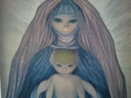 18x24 Novella Parigini Woman and Child Print on... - $87.22